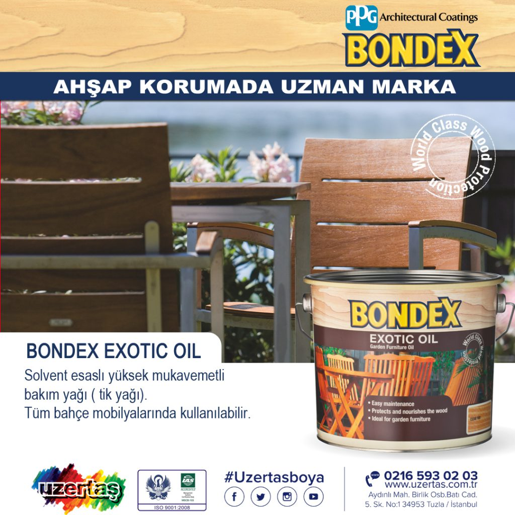 Bondex Exotic Oil