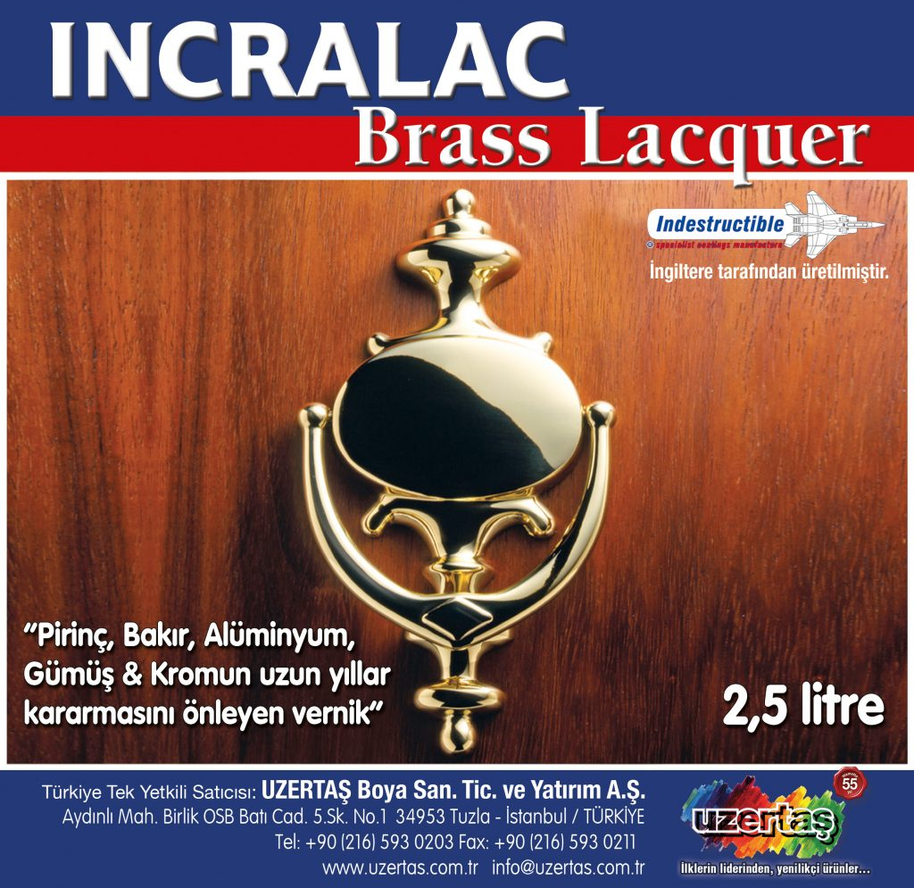 Incralac 1 litre lable turkey